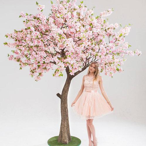 Аренда искусственного дерева Яблоня luxe розовая 3 м.