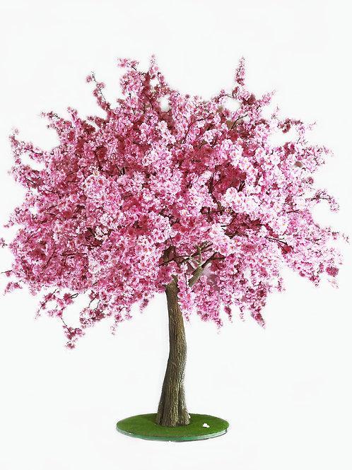 Аренда искусственного дерева Сакура розовая 2 м.