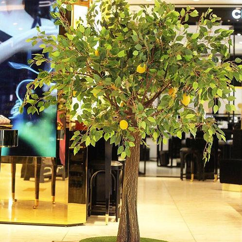 Аренда искусственного дерева Лимон 2м.