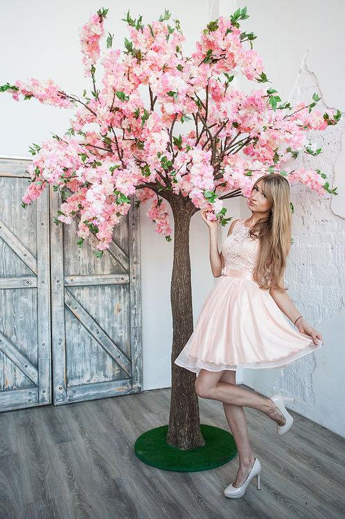 Аренда искусственного дерева Яблоня luxe Персиковая 3 м.