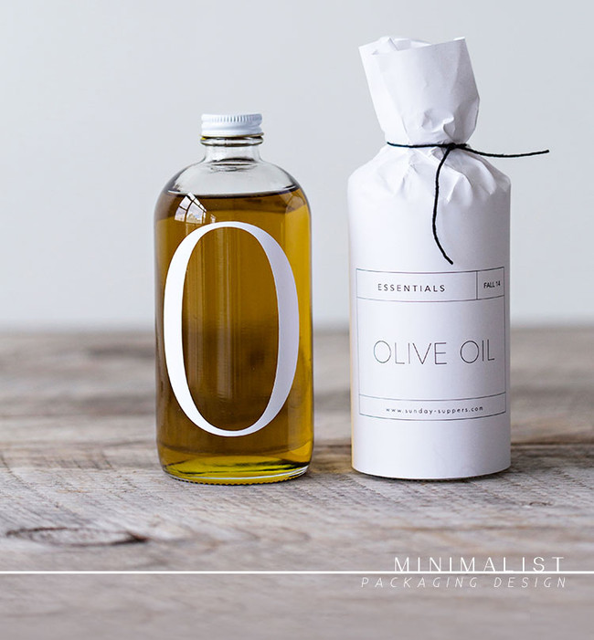 inspirations | minimalist packaging