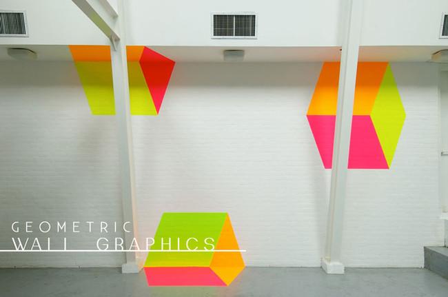concepts | geometric wall graphics