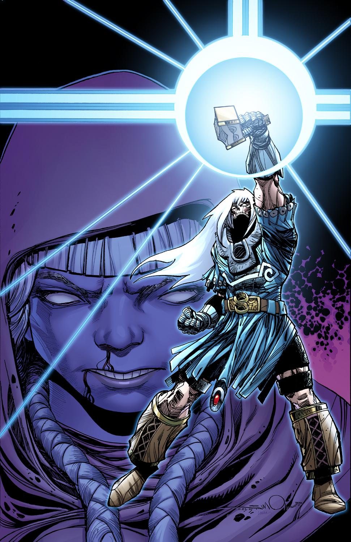 Ragnarök #9 cover