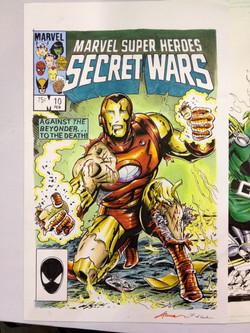 Iron Man sketch cover
