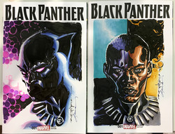 Black Panther covers