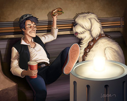 Han Jughead and Hotdogbacca