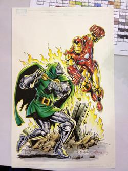 Doom vs. Iron Man