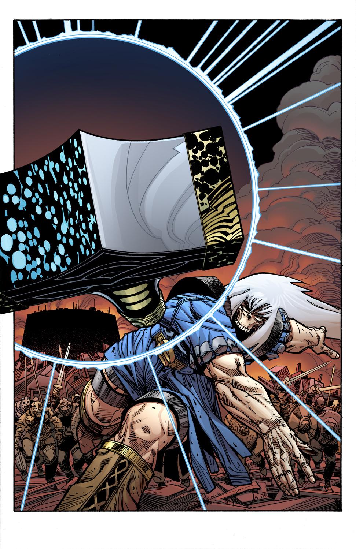 Ragnarök #12 Cover