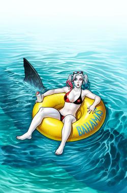 Harley Quinn #8 cover