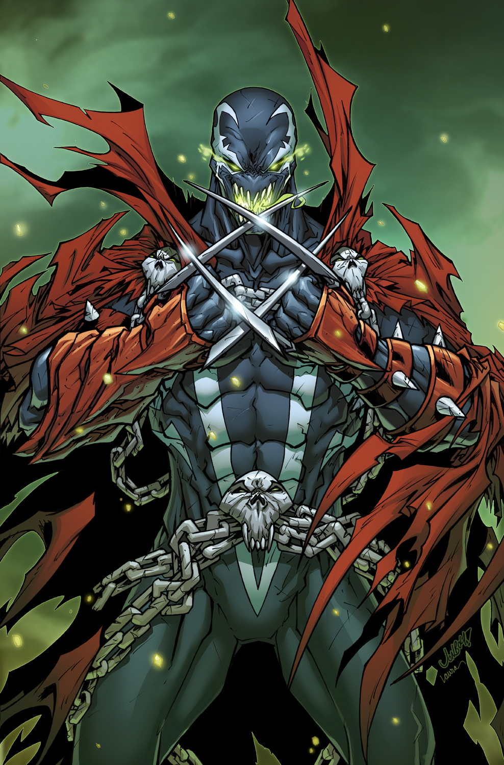 Spawn #258 Cover
