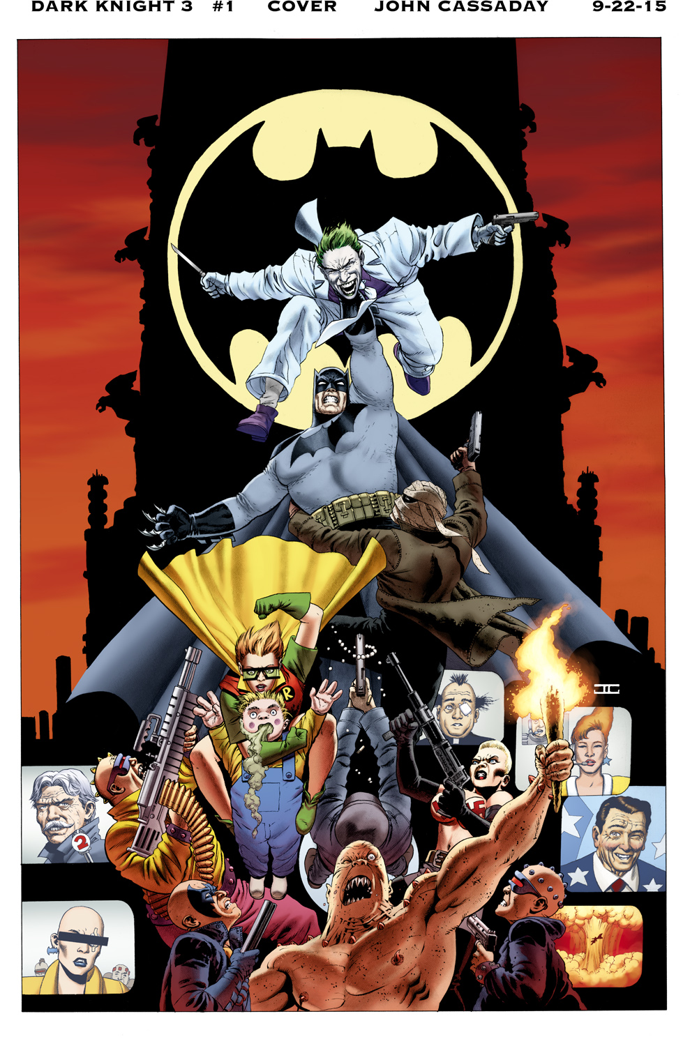 Dark Knight III Cover