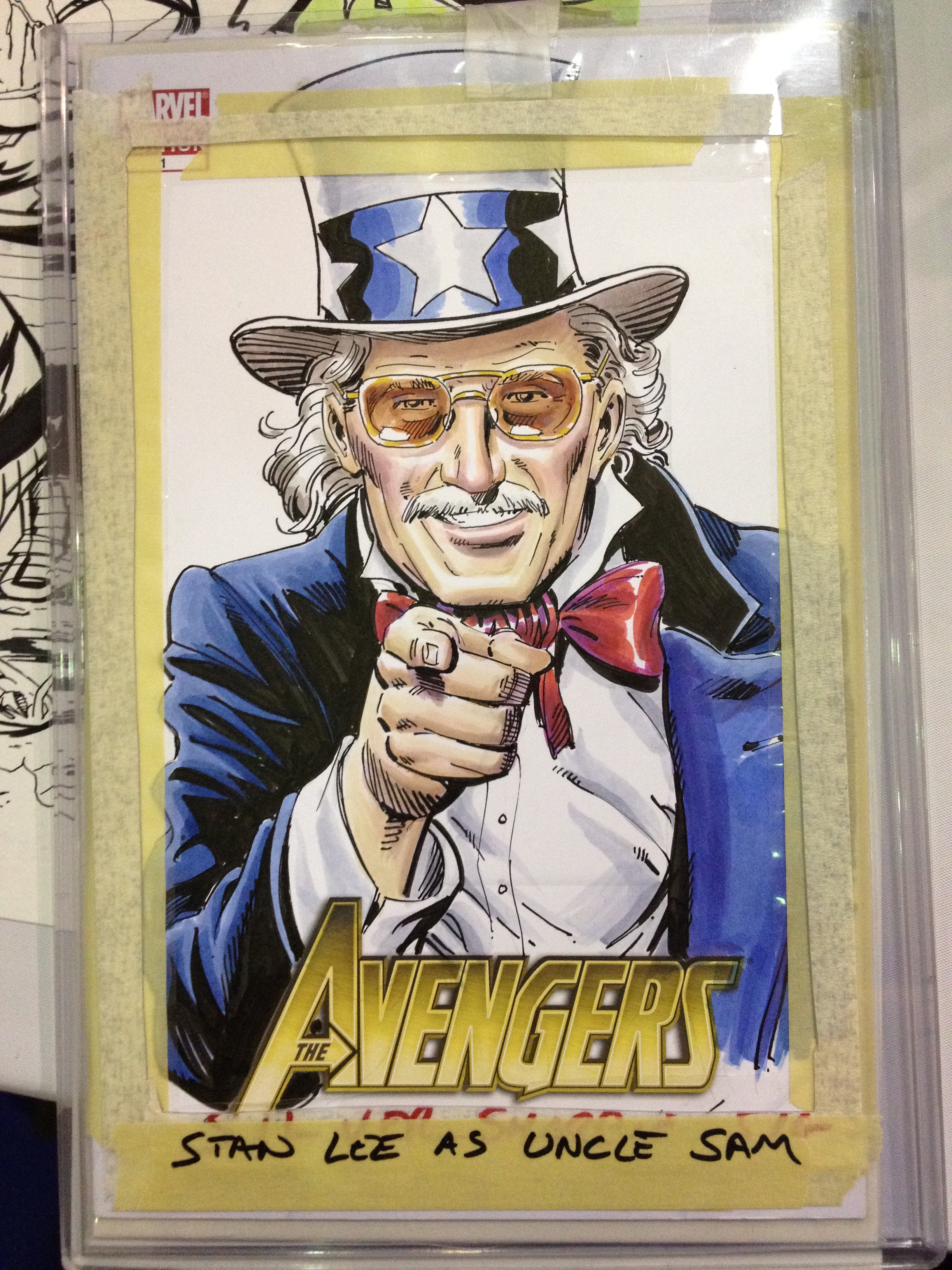 Stan Lee as Uncle Sam