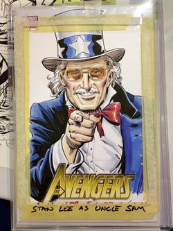 Stan Lee as Uncle Sam