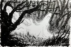 Drawlloween 2015: Ghost