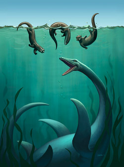Nessie & Otters Play