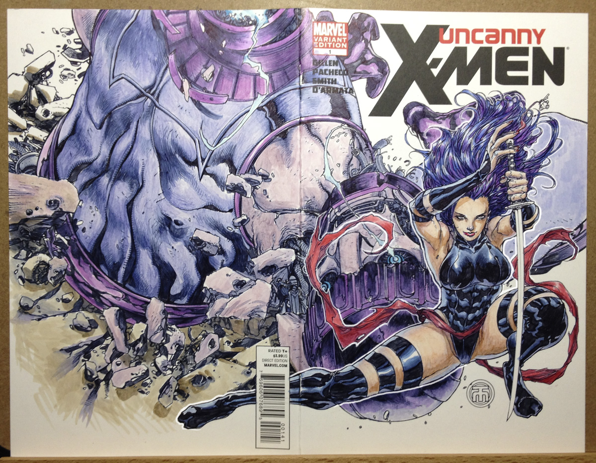 Psylocke wraparound cover