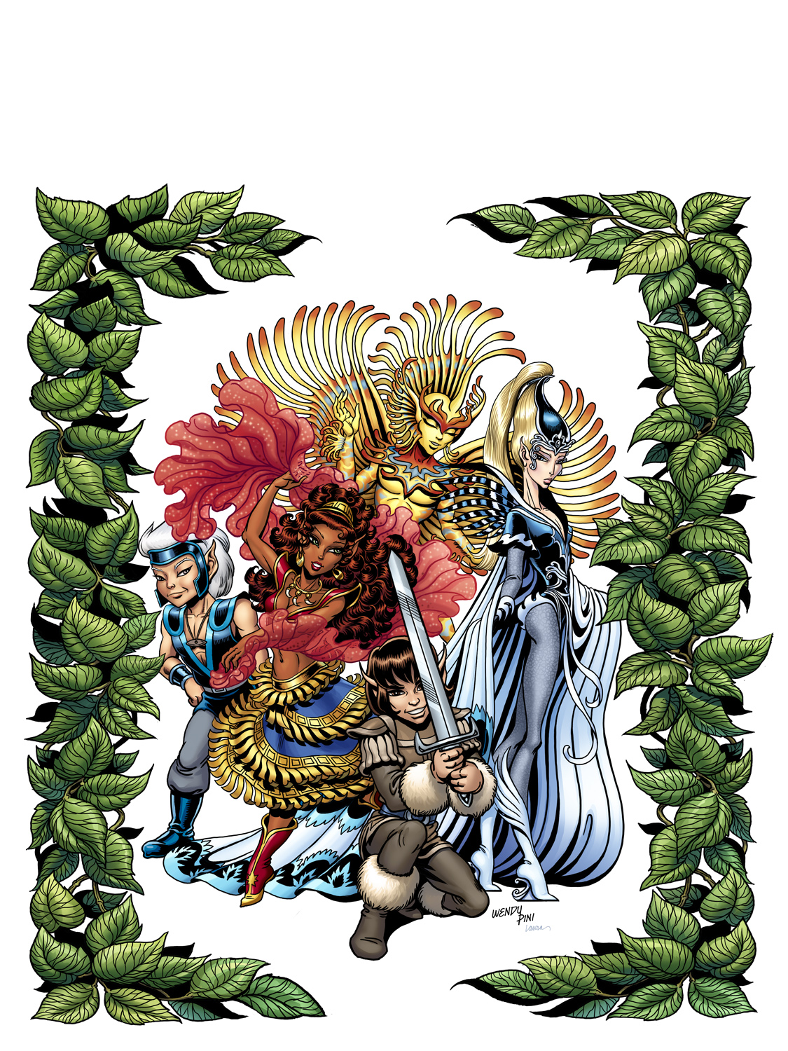 Elfquest Coloring Book Cover