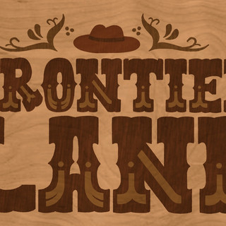 Frontier Land Sign