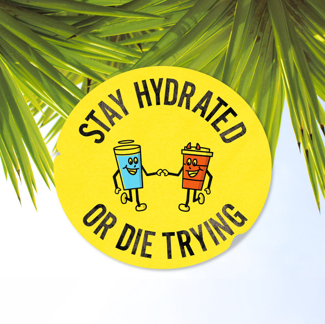 Stay Hydrated Badge