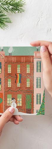 Brownstone Card Printed