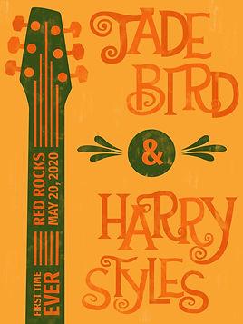 Jade Bird & Harry Styles Music Poster