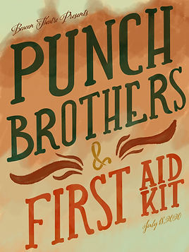 Punch Brothers & First Aid Kit Poster-01