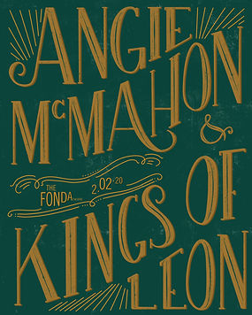 Angie McMahon & Kings of Leon Poster.jpg