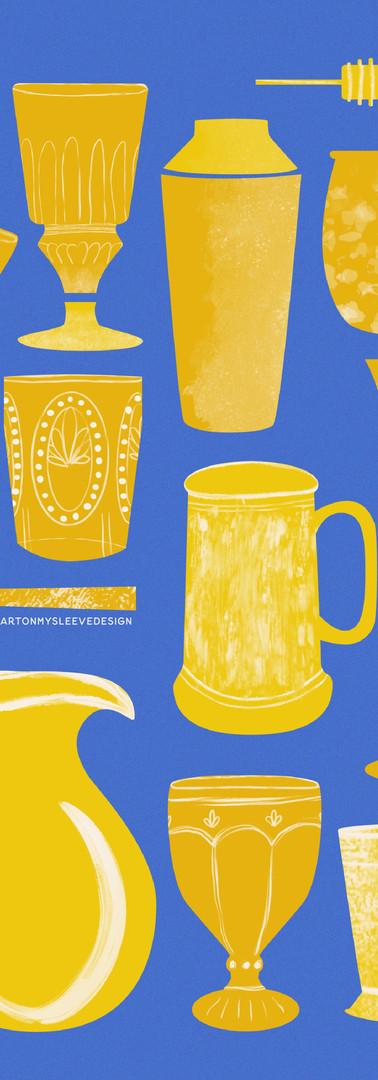 Baketober Drinkware