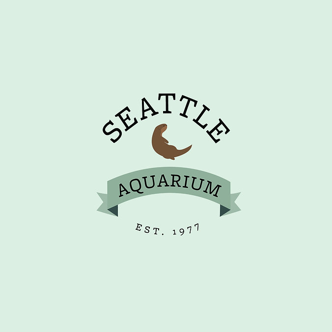 Seattle Aquarium Rebrand