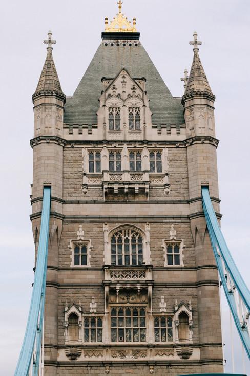 Portrait of Tower Bridge