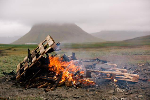 Viking Bonfire