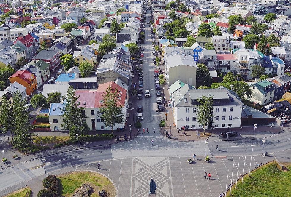 Reykjavik from the Sky