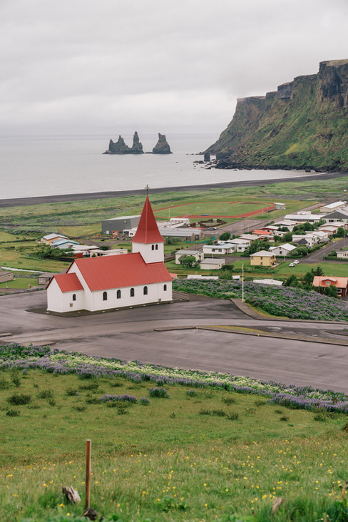 The Red Church in Vik