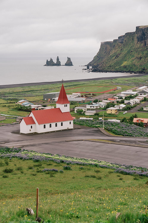 Red Church of Vik