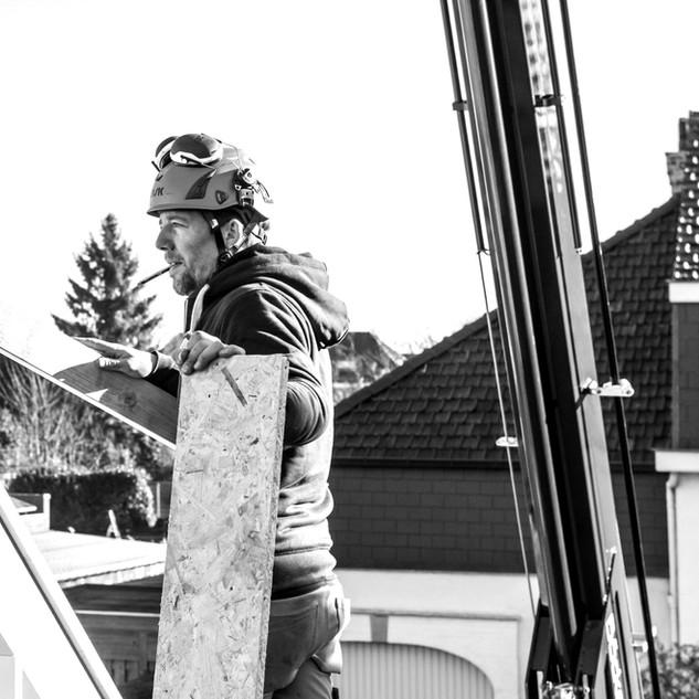 David, houtbouwer