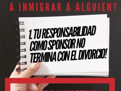 Sponsor o Patrocinador Económico para las Peticiones Migratorias
