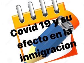 SU PETICION MIGRATORIA EN TIEMPOS DEL COVID19