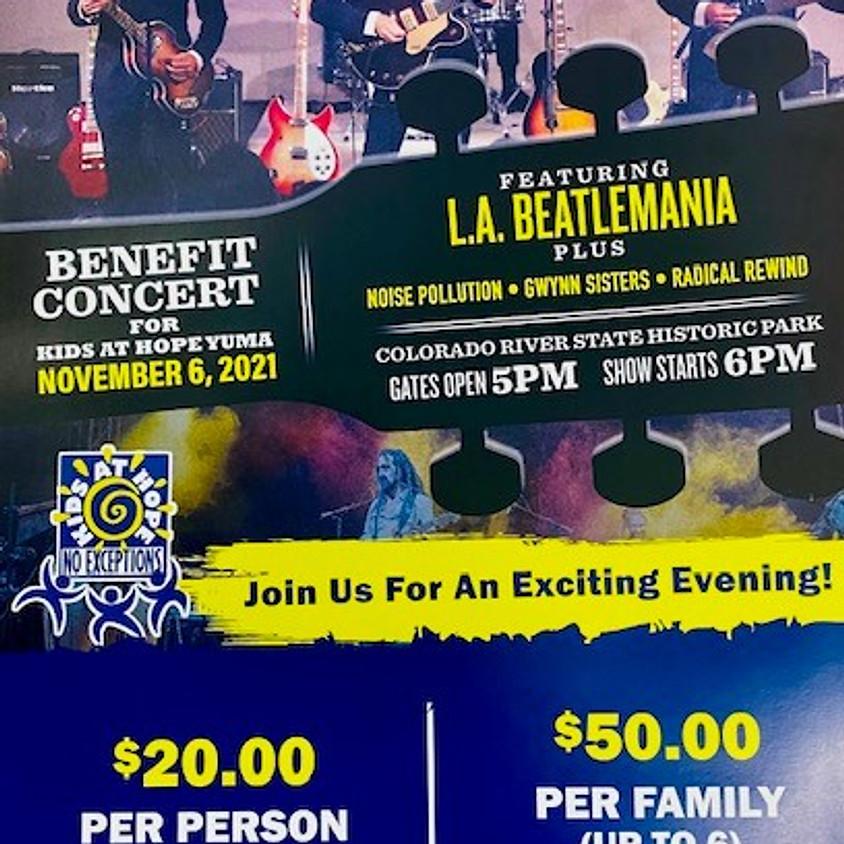 Benefit Concert For Kids at Hope