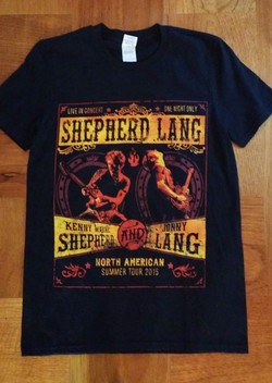 JL & KWS Tour T-Shirt 2015