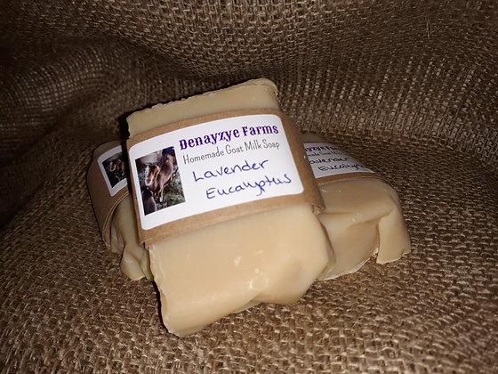 Lavender Eucalyptus Goat Milk Soap
