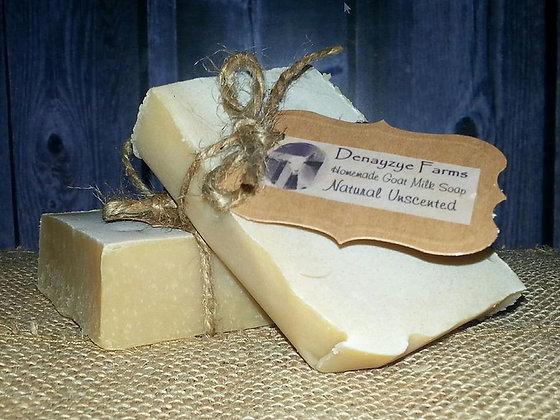Natural Goat Milk Soap UNSCENTED