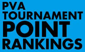PVAトーナメント・ポイントランキング(2014/9/14現在)