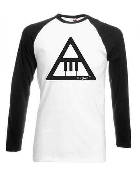 """Long Sleeve Baseball T-shirt """"LOGO"""""""