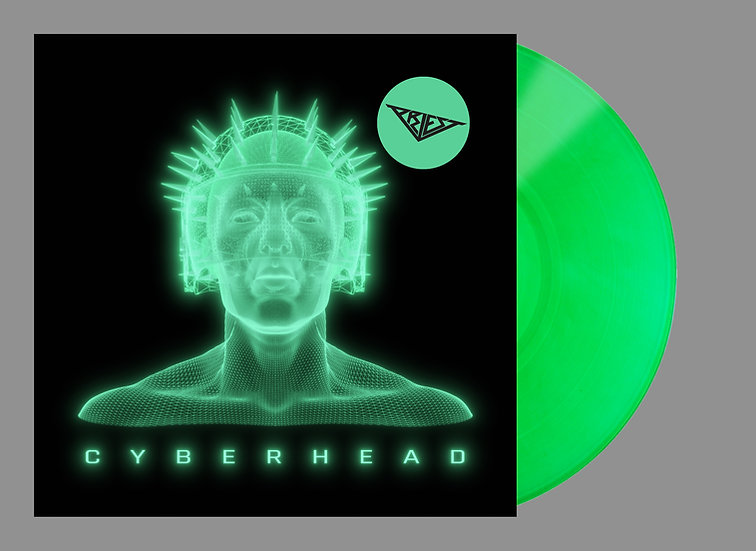 "Cyberhead - Limited 300x 12"" Transparent Soylent Green 180g Vinyl"