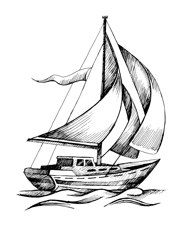 Sail boat 4004