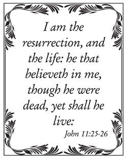 John 11:25-26 1011