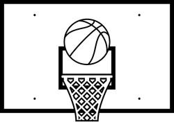 Basketball hoop 6006