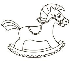 Rocking horse 3003