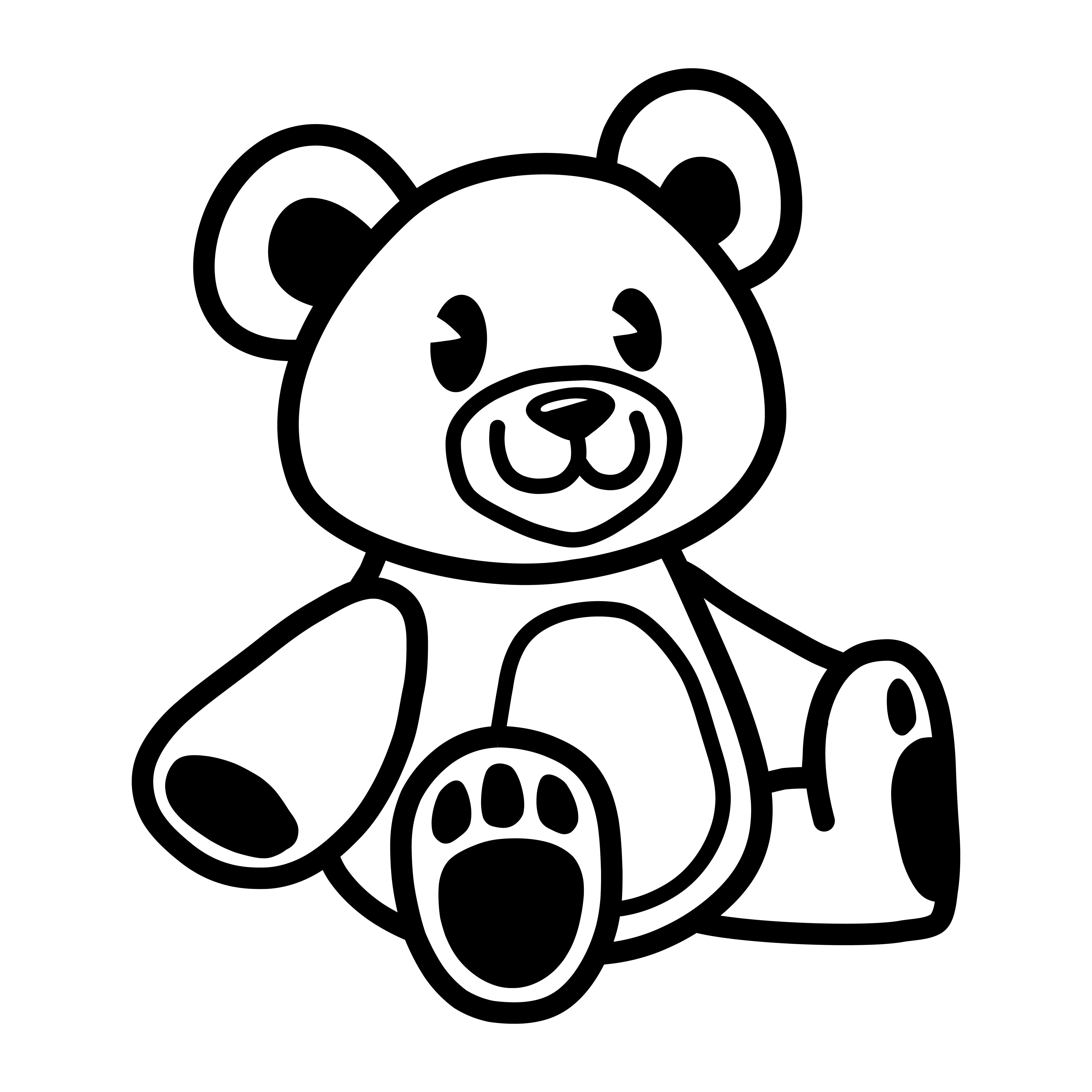 Teddy bear 3004