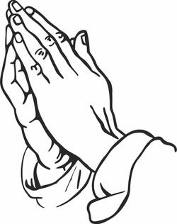 Praying hands 1008